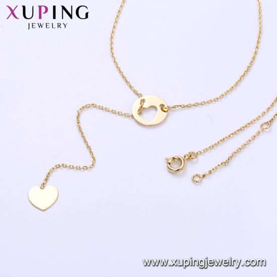44397 Hot Sales Fashion Men Statement Chain Necklace in Gold-Plated pictures & photos