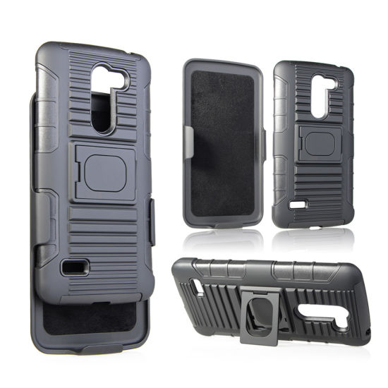 3 in 1 Tough Rugged Kickstand Hard Hybrid Armor Heavy Duty Shockproof Case for LG K10