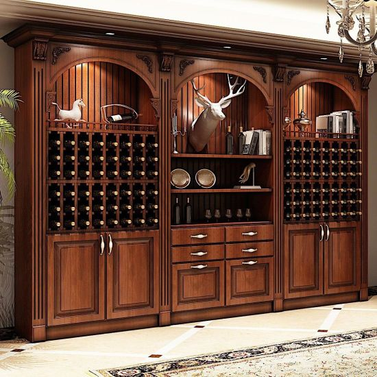 Dining Room Furniture Pantry Cabinet Kitchen With Wine