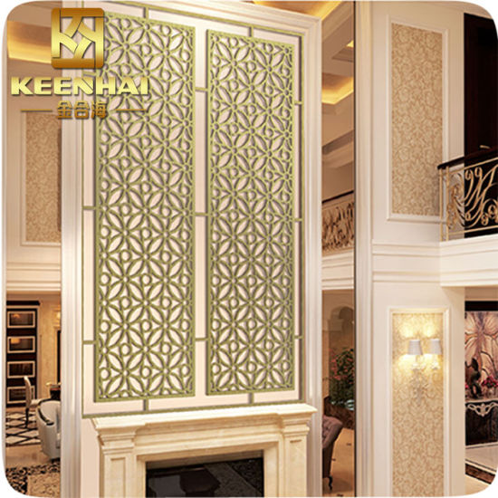 Decorative Perforated Metal Wall Panels for Hotel Restaurant pictures & photos