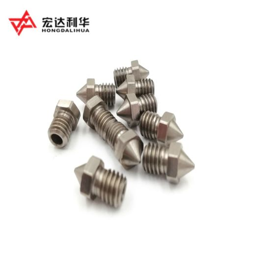 China High Quality Tungsten Carbide 3D Extruder Nozzle for