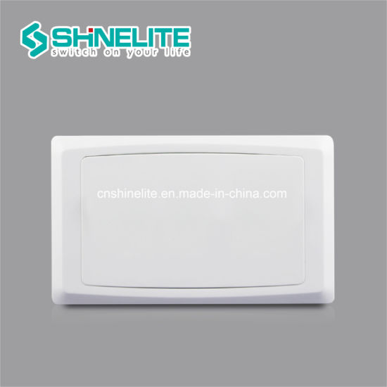 Best Price Plastic 2 Gang Wall Switch Blank Plate