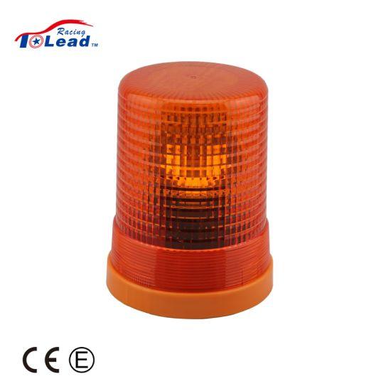 Warning Light Amber 12V-24V DC Halogen Beacon Light for Trucks