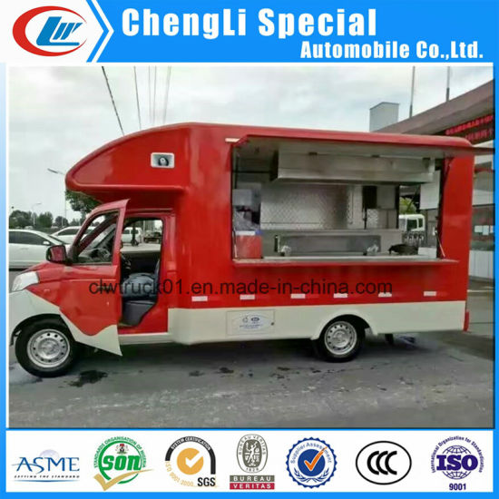 International Standard Food Truck/Mobile Food Trailer/Food Cart/Food Car for Sale