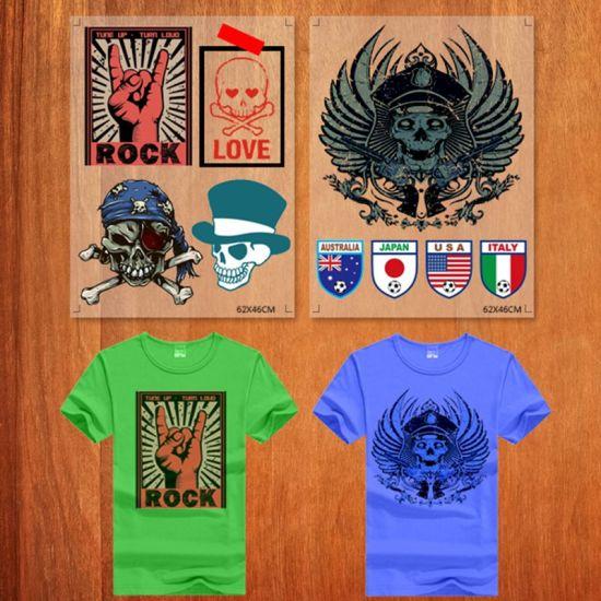 Custom T Shirts Screen Print Plastisol Heat Transfers for T-Shirts Labels
