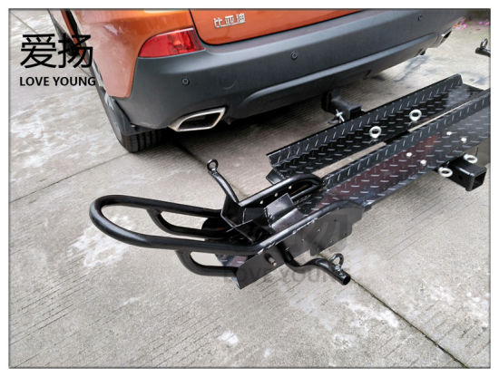 China Heavy Duty Hitch Mount Motorcycle Carrier Car Rear