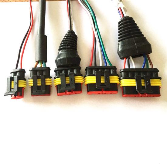 waterproof custom auto wiring harness wiring diagram write Pioneer Wiring Harness