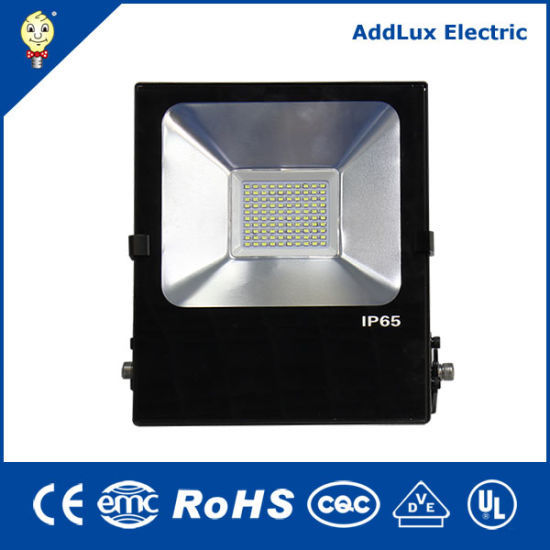 IP65 Ce CB Saso UL 10W 20W 30W 50W Rectangle Industrial LED Flood Light Exporter Distributor Made in China for Outdoor, Street, Garden, Park, Exterior Lighting