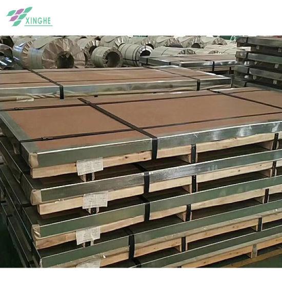 China Supplier High Strength Metal Galvanized Steel Sheet