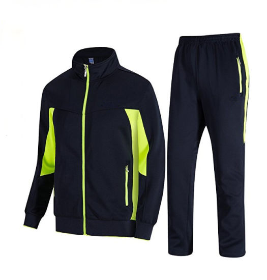 High quality Fabric Windbreaker Tracksuit
