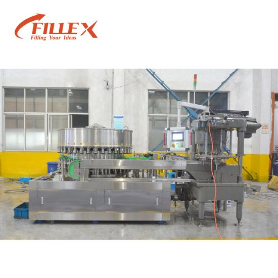 Automatic Energy Drink Carbonated Drink Can Beverage Filling Packing Line