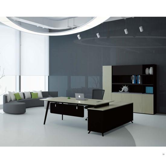 Executive Office Desk Wood Color Ceo