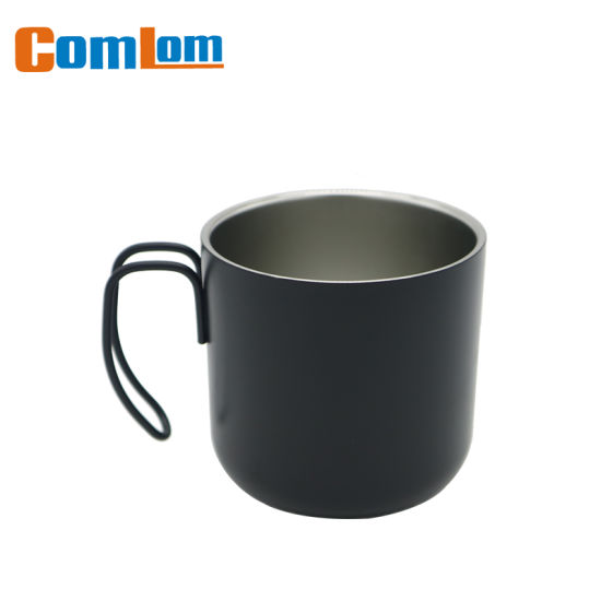 a6d2ed4d8c9 CL1C-M111 Comlom 15oz Stainless Steel Coffee Travel Mug With Wire Handle  pictures & photos