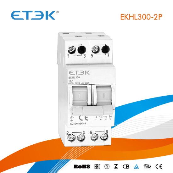 Ekhl300 1-0-2 3p 25A Modular Changeover Switch