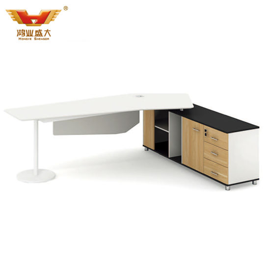 Panel Desk Executive Desk Modern Manager Table Office Furniture (H85-0180)