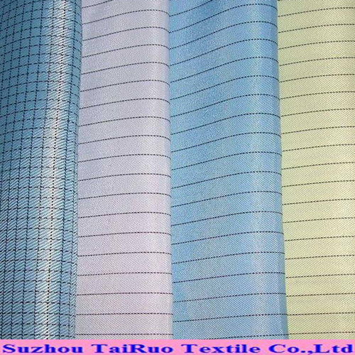 100% Polyester ESD Anti Static Fabric for Cleanroom Functional Workwear