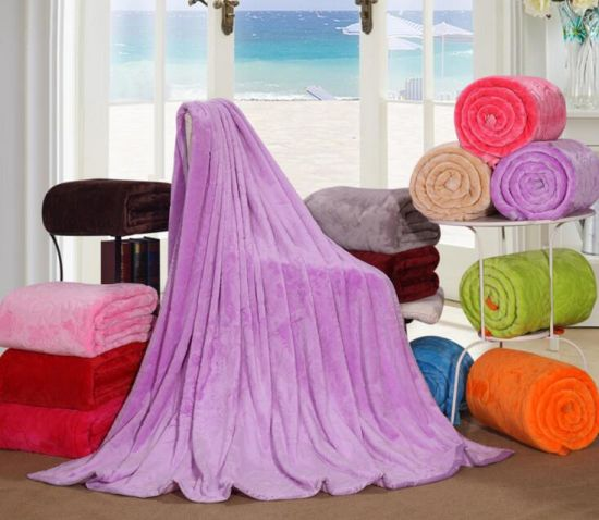 100% High Quality Rashel Blanket From China Manufacturer pictures & photos