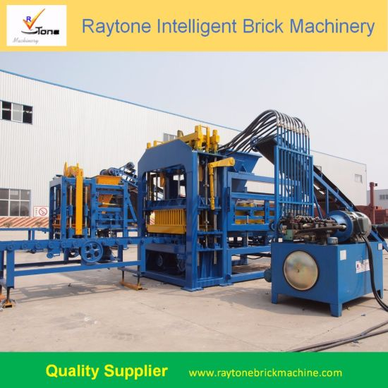 Qt4-15c Automatic Cement Brick Block Making Machine Price, Concrete Paving Block Machine for Sale pictures & photos