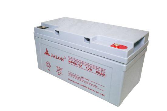 Valve Regulated Sealed Lead Acid Battery for UPS/EPS System 12V 65ah