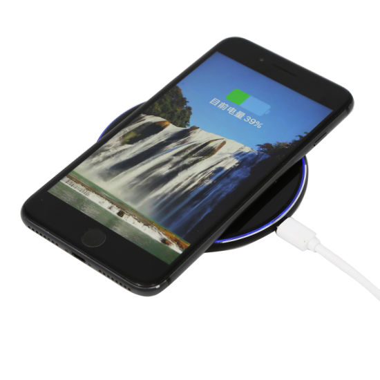 OEM Wireless Charger Fast Charger with Qi Standard Use for Smart Phone Ce FCC RoHS