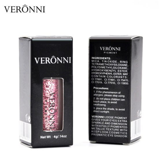 2018 Hot Sale Veronni 12 Colors Glitter Eyeshadow Pigment Powder pictures & photos