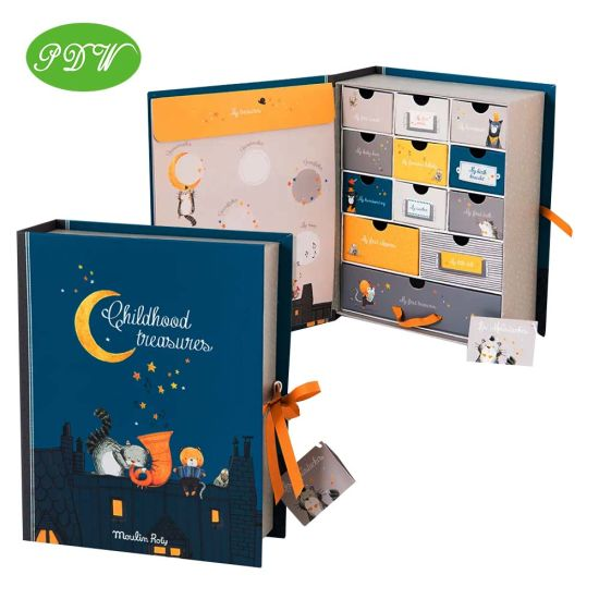 Custom Children Advent Calendar Box Paper Packaging Christmas Gift Boxes