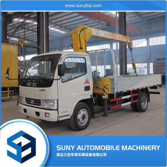 6 Ton Truck Mounted Crane Telescopic Boom Basket Truck-Mounted Cranes