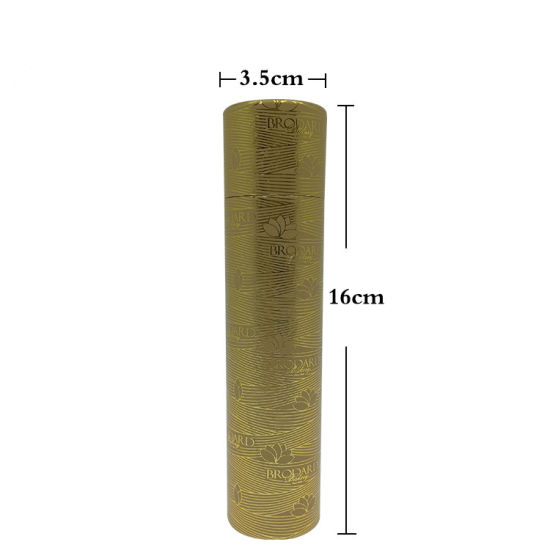 Wholesale Custom Design Logo Cylinder Lipstick Nail Polish Paper Lip Balm Packaging Cardboard Tube Box