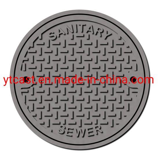 Sanitary Drain Cover Ductile Iron