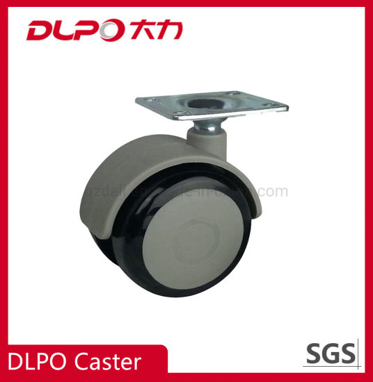 Dlpo 50mm Plate Share A90 Rubber Wheel Castor for Indusion Stand