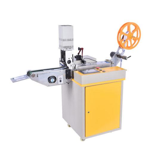 Ultrasonic Label Cutting Frid Label Perforating Hole Machine Price (WL-108)