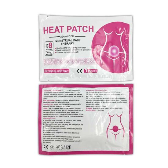 Wholesale Medical Period Pain Relief Patch Menstrual Heating Patch