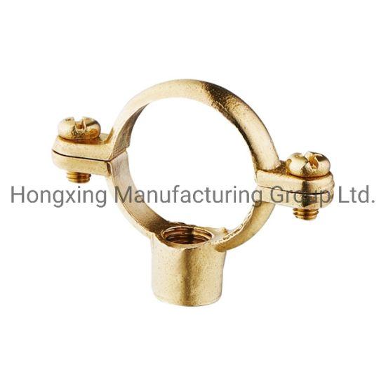 Pipe Clips Brass Single Munsen Ring