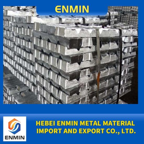 Wholesale Chinese 99.995% High Purity Zinc Ingot and Zinc Alloy Ingot