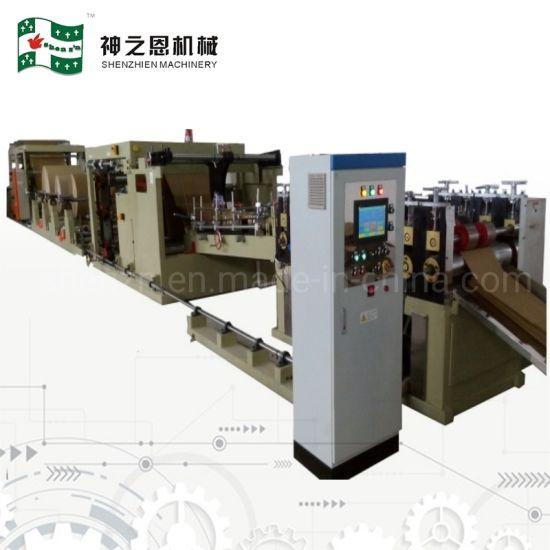 China Kraft Paper Sealing Charcoal Bagging Cement Bag Making Machine
