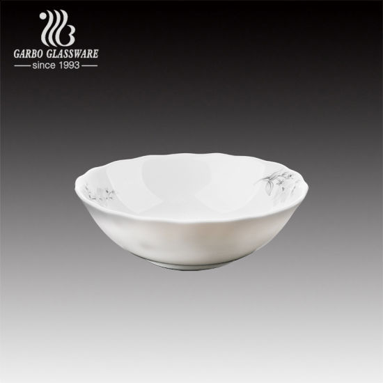 """Opal Dishes Services Bowls 5"""" Break and Crack Resistant Dish Dinnerware Sets (BY13LHW50-T2)"""