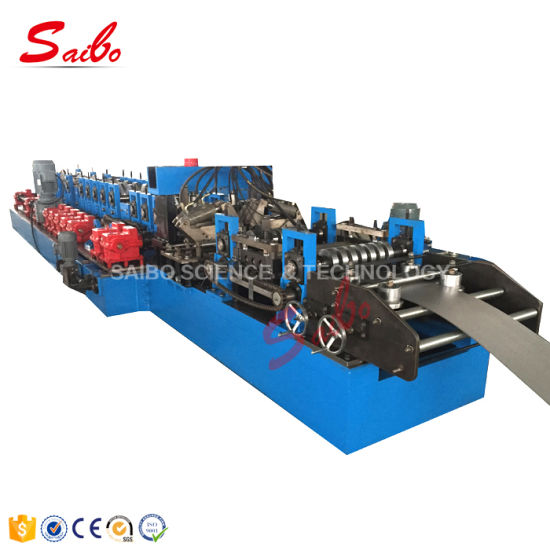 C and Z Interchangeable Roll Forming Machine for Building