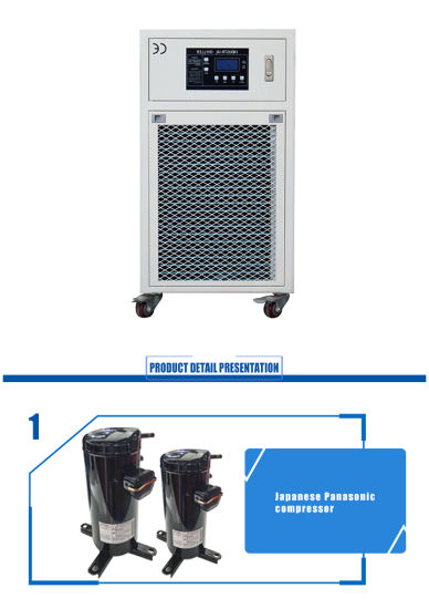 CO2 Laser Chillers for 100W Laser Cutting Engraving Machine