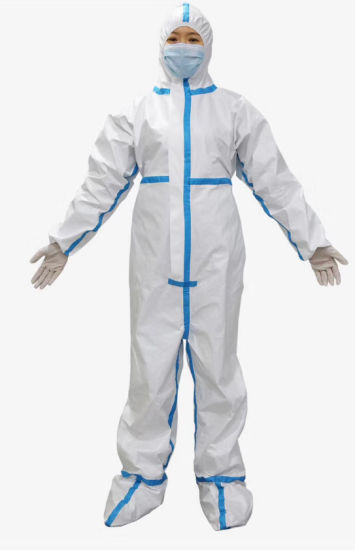 Disposable Hospital Surgical Medical Virus Safety Professional Protective Suit Protective Coveralls