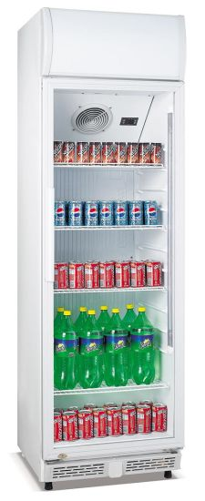 Juice Soft Drink Fridge Display Cooler with CE Certificate (LG-230XF)