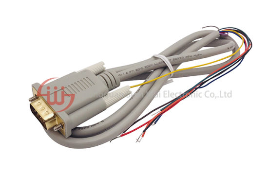 Customized dB 9 Male Display Cable