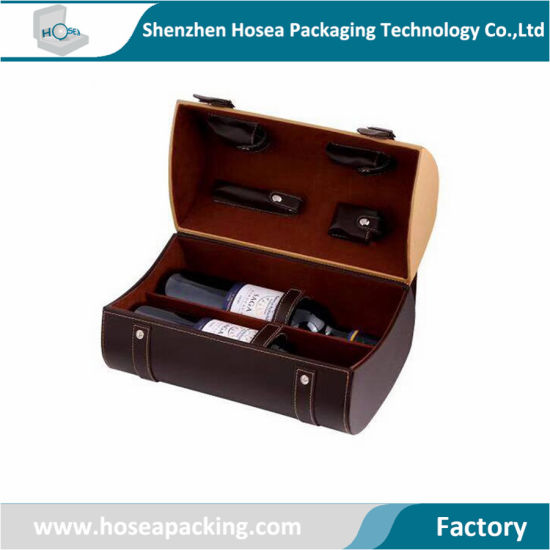 2020 New Design Luxury Wine Box Dual Wine Packaging with Customized Logo