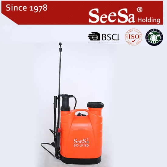 18L Agricultural Manual Air Pressure Back Pack Sprayer (SX-LK18D) pictures & photos
