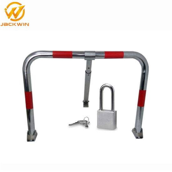 China M Shape Stainless Steel Manual Car Parking Lock - China