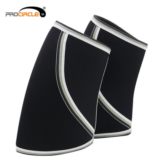 Procircle Neoprene Knee Sleeves Support & Compression for Weightlifting, Powerlifting & Cross Training