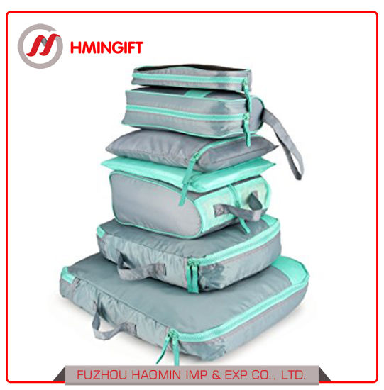 d0b4ddc725e4 China 7 Set Waterproof Packing Cubes Travel Luggage Organisers ...