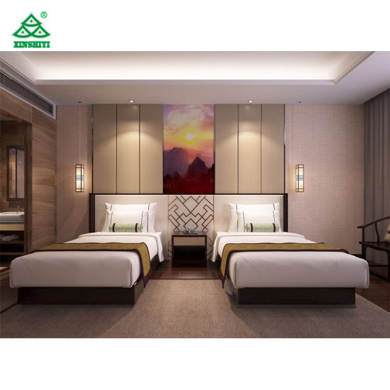 Modern Style Bedroom Furniture Suit for 4 Star Hotel