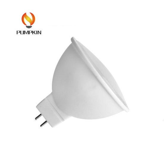 Plastic and Aluminum GU10 MR16 3W SMD LED Spotlight Bulb