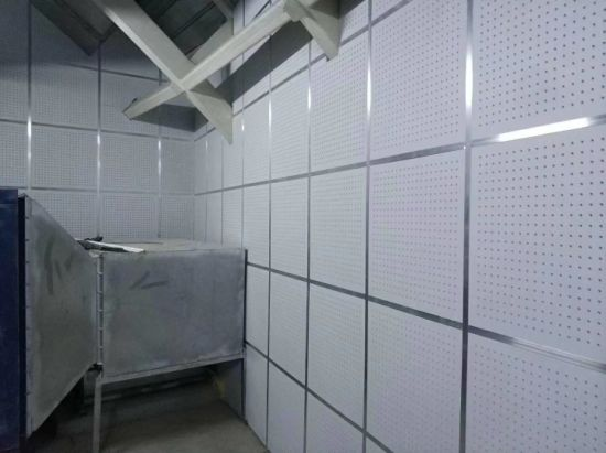 Soundproof Ceiling Panel Perforated Gypsum Board For Church