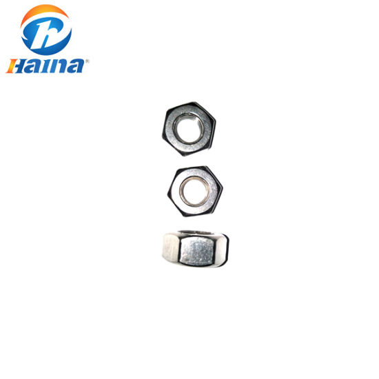 Hex Nuts with Links FINE THREAD DIN 934 with left-hand Thread Steel M8-M16